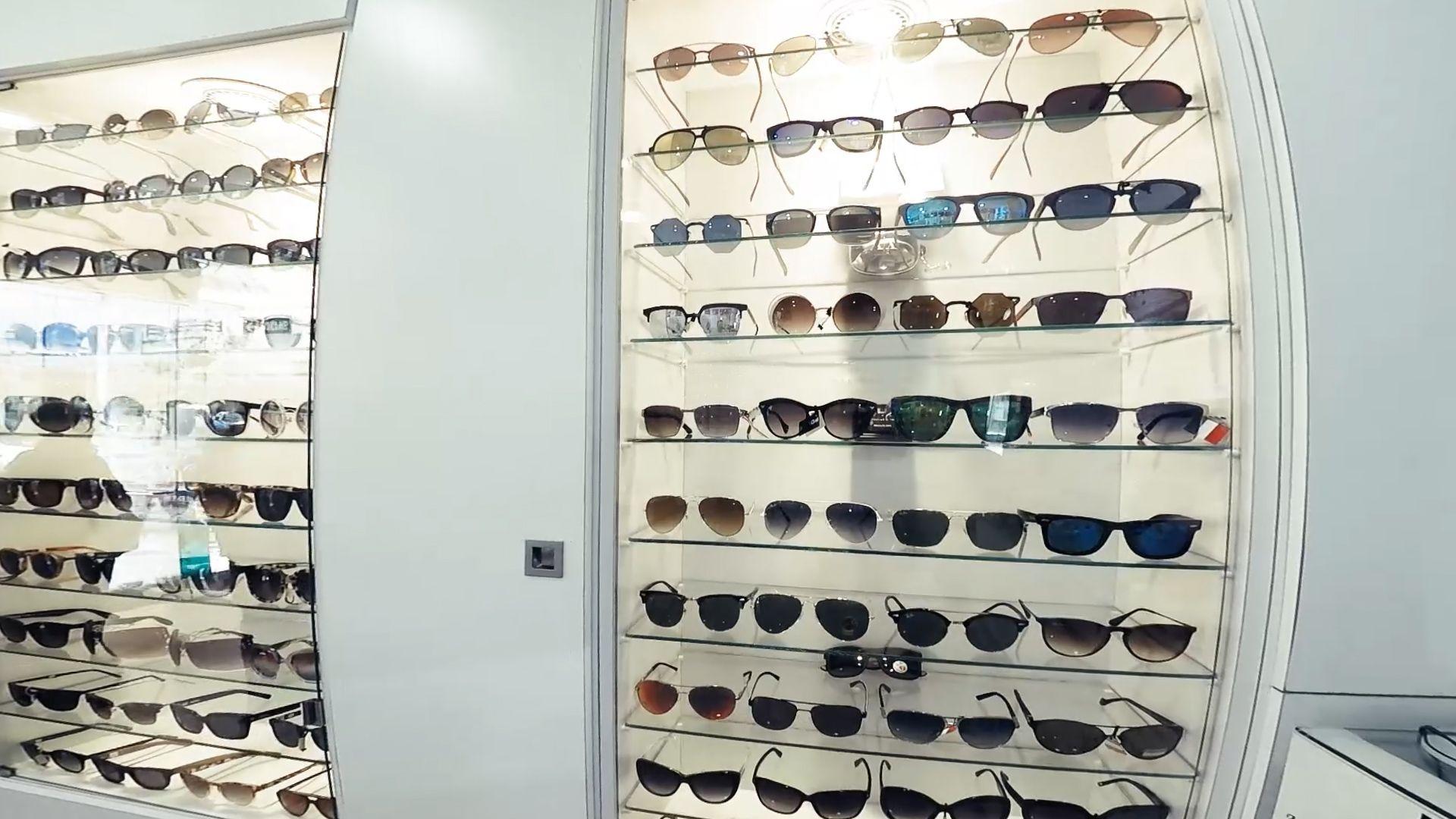 Mas de mil modelos de gafas para sol